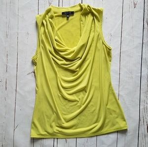 🎉 3 for $10 Lime Green Cowl Neck Tank Top